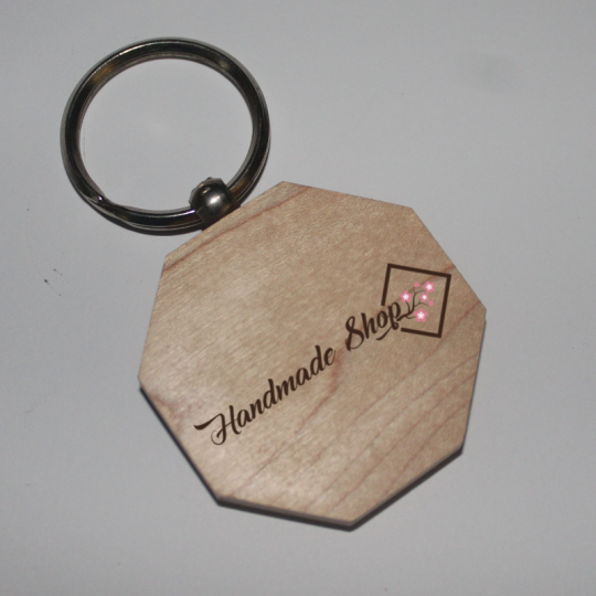 One color keychain with Eight sides in Nagpur