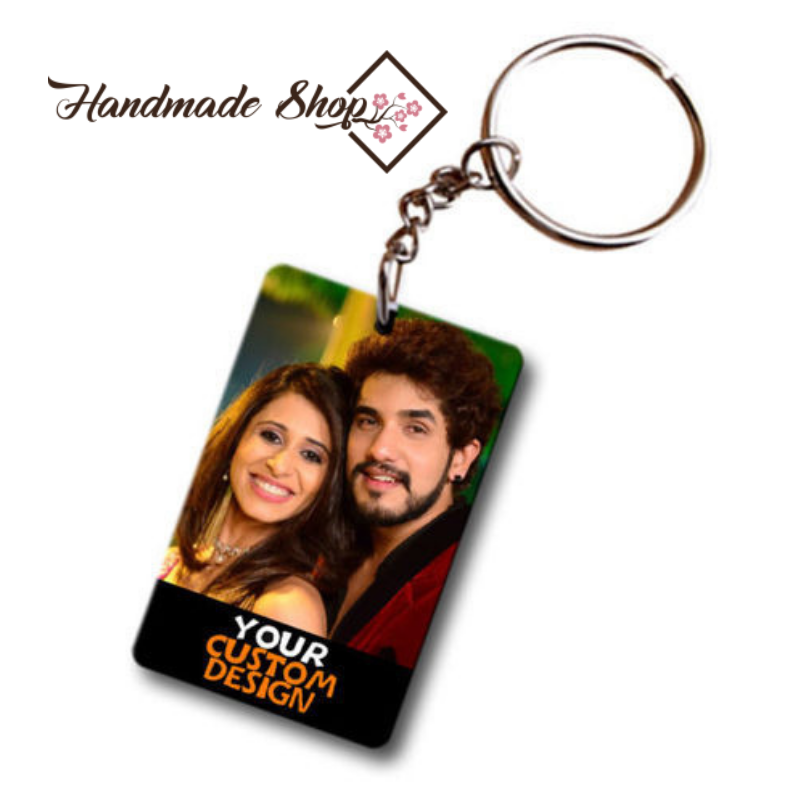 Personalized Wooden Key Chain Rectangle in Nagpur