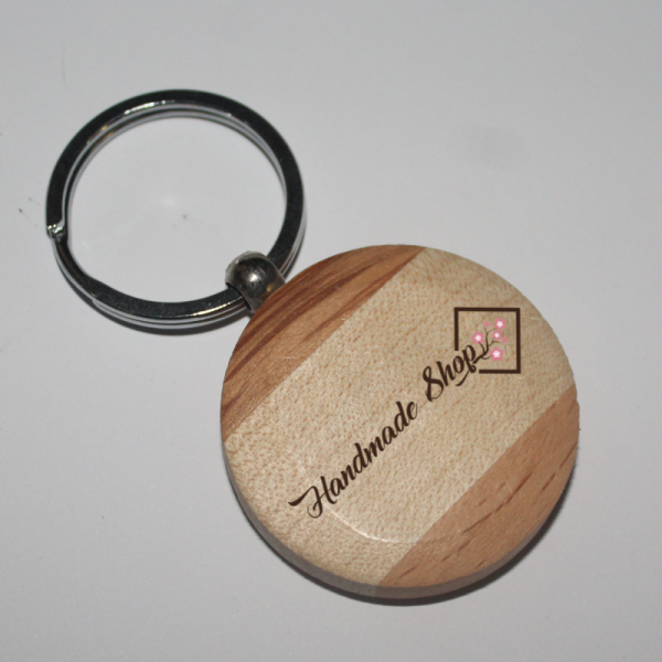 Round keychain with 2 color in Nagpur